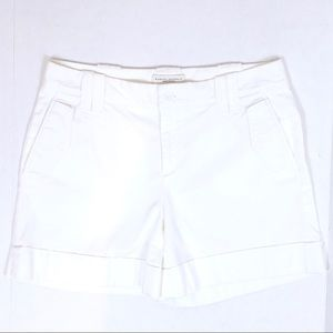 B.R. Martin Fit White Denim Shorts -EUC